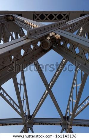 Garden Bridge, steel bridge over Suzhou River, Shanghai, China
