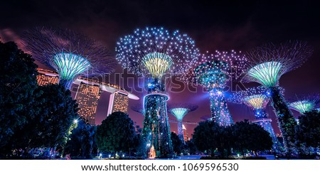Garden by the Bay in Singapore #1069596530