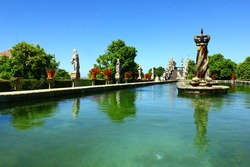 Garden, Castelo Branco, Portugal