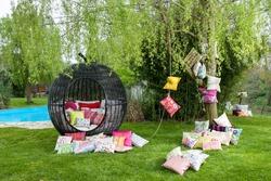 garden decoration and garden lantern