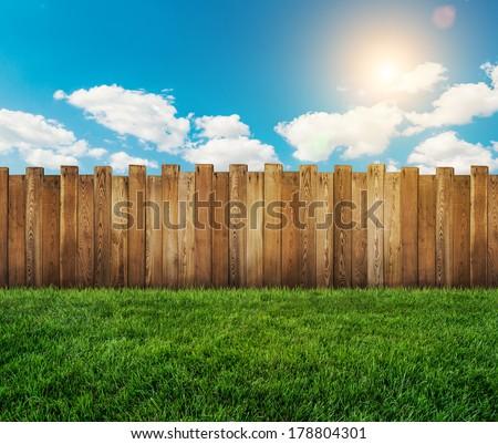 garden fence #178804301