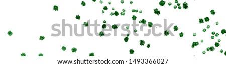 Garden Flora Texture. Green Marine Flora. Artistic Flora Texture. Artistic Watercolor Illustration. Summer Ink Design. Seaweed Flora Texture.
