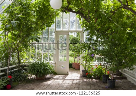 Garden greenhouse Сток-фото ©