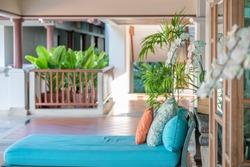Garden Hotel Interiors