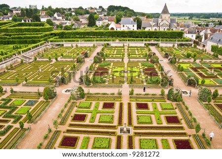 Loire Valley France Gardens