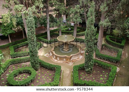 in the Alhambra of Granada