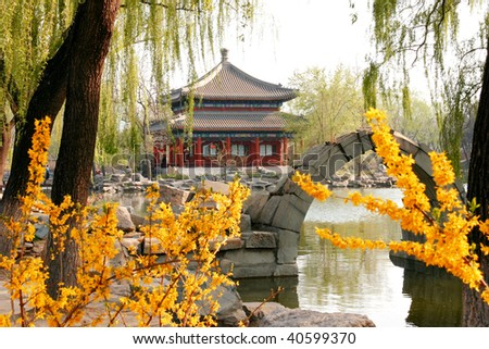 Garden of Imperial Palace or Palace Museum or Forbidden City