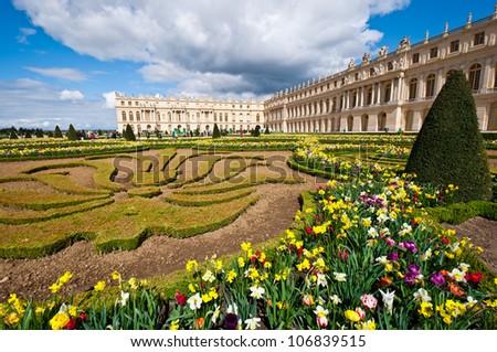 Versailles Paris Garden Garden of Palace of Versailles