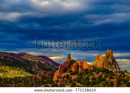 Garden of the Gods- Colorado Springs #771538624