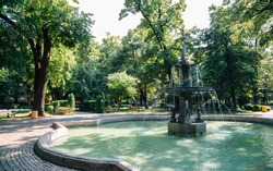 Garden of Tsar Simeon in Plovdiv, Bulgaria