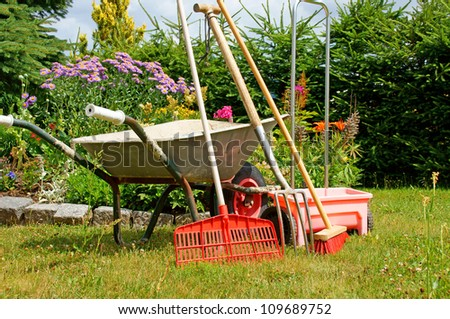 garden tools / gardening