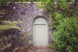 Garden Wall - Isle of Skye, Scotland