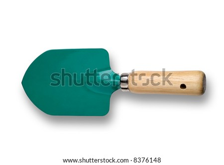 Gardening tool  - trowel - isolated