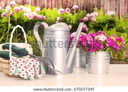 Gardening tools Zdjęcia stock ©