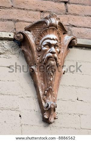 gargoyle on wall