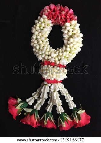 garland, jasmine garland, Thai garland #1319126177