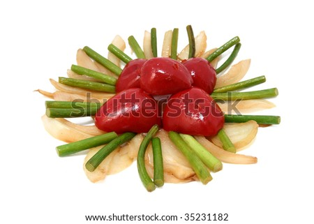 Garlic Stem Vegetables Stock Photo 35231182 : Shutterstock