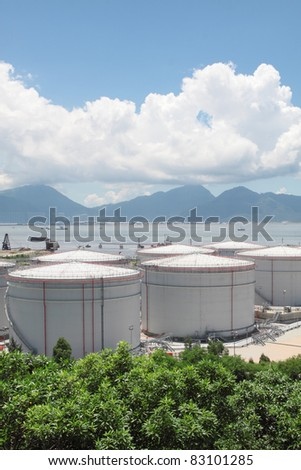 gas container in hong kong