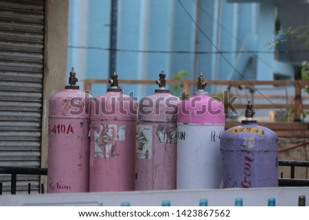 gas cylinders in Hyderabad India  #1423867562