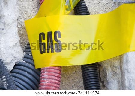 gas. dangerous work. attention...