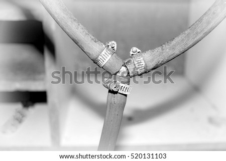 stock-photo-gas-pipe-t-junction-in-b-w-v