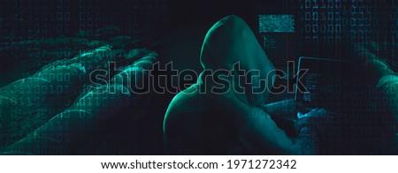 gas pipeline hacker ransom attack Photo stock ©