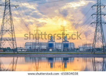 Gas power plant #650834038