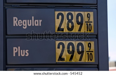 Gas prices in september 2005 in Washington state