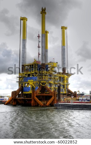 Gas Production Platform, self installable