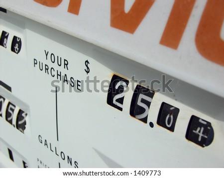 Gas Pump, Gas Price