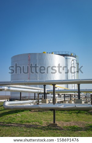 Gas storage and pipeline #158691476