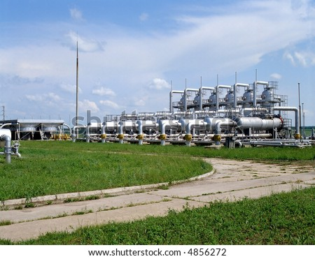 Gas storage facilities, natural gas transportation and gas deliveries