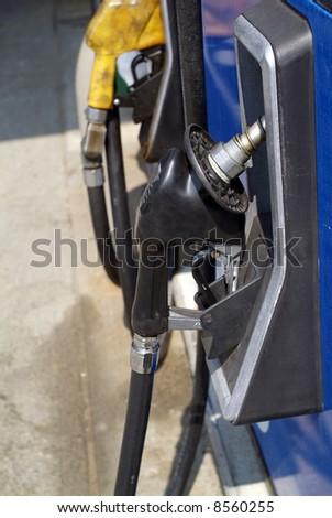 gasoline refueling station #8560255