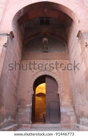 Gate of Justice in Granada - Spain