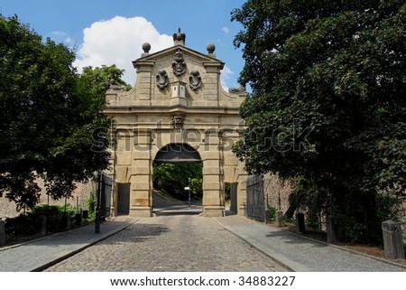 "Gate on ""Vysehrad"""