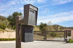 Gated security intercom in a rural community