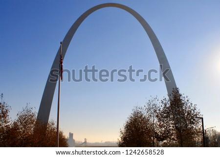 Gateway Arch - St. Louis, Missouri #1242658528