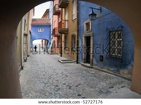 Gateway at Warsaw's old town.