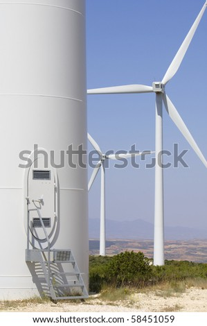 gateway to a modern windmill for renewable energy production