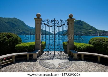 Gateway to Lake Lugano, Lugano, Ticino, Switzerland