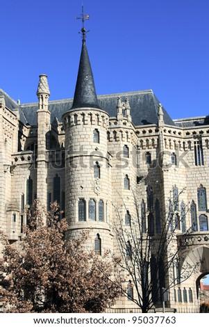 Gaudi palace (Astorga, Spain)