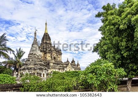 Gawdawpalin Temple in Old Bagan, Myanmar