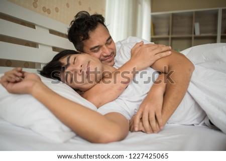 Sensual gay love