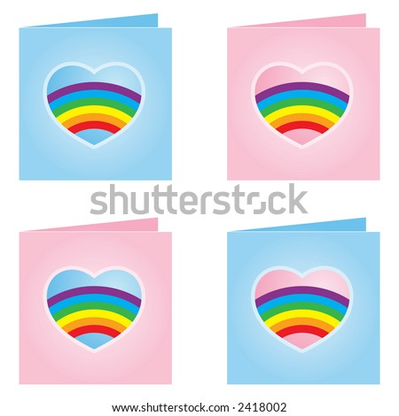 stock photo : Gay Valentines Day Greeting Cards. Save to a lightbox ▼