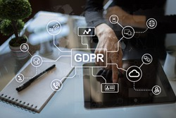 GDPR. Data Protection Regulation. Cyber security and privacy.