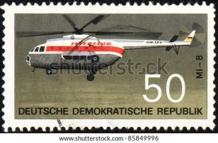 gdr   circa 1969  a stamp...