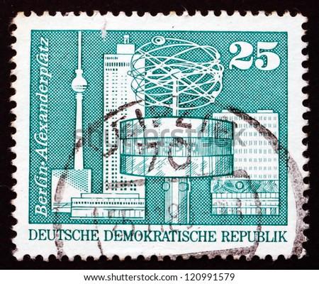 gdr   circa 1973  a stamp...