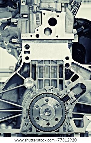 gear in a motor