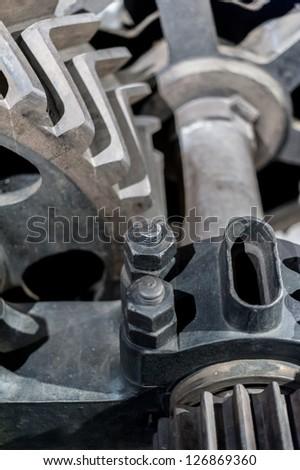 gear mechanisms retro vintage