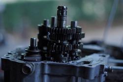 gear ratio transmission gearshift motor